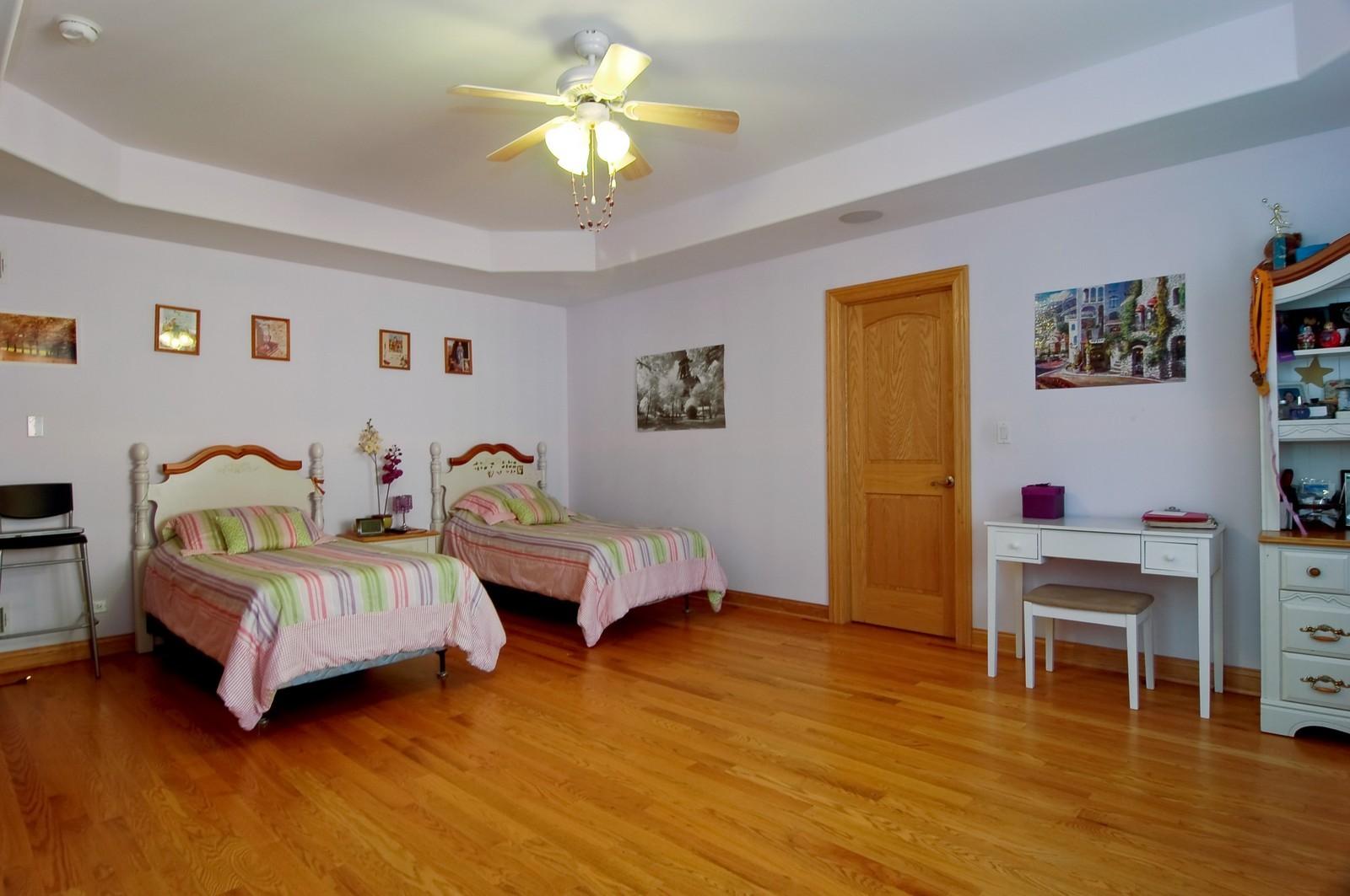 Real Estate Photography - 457 Ellis, Bensenville, IL, 60106 - Bedroom