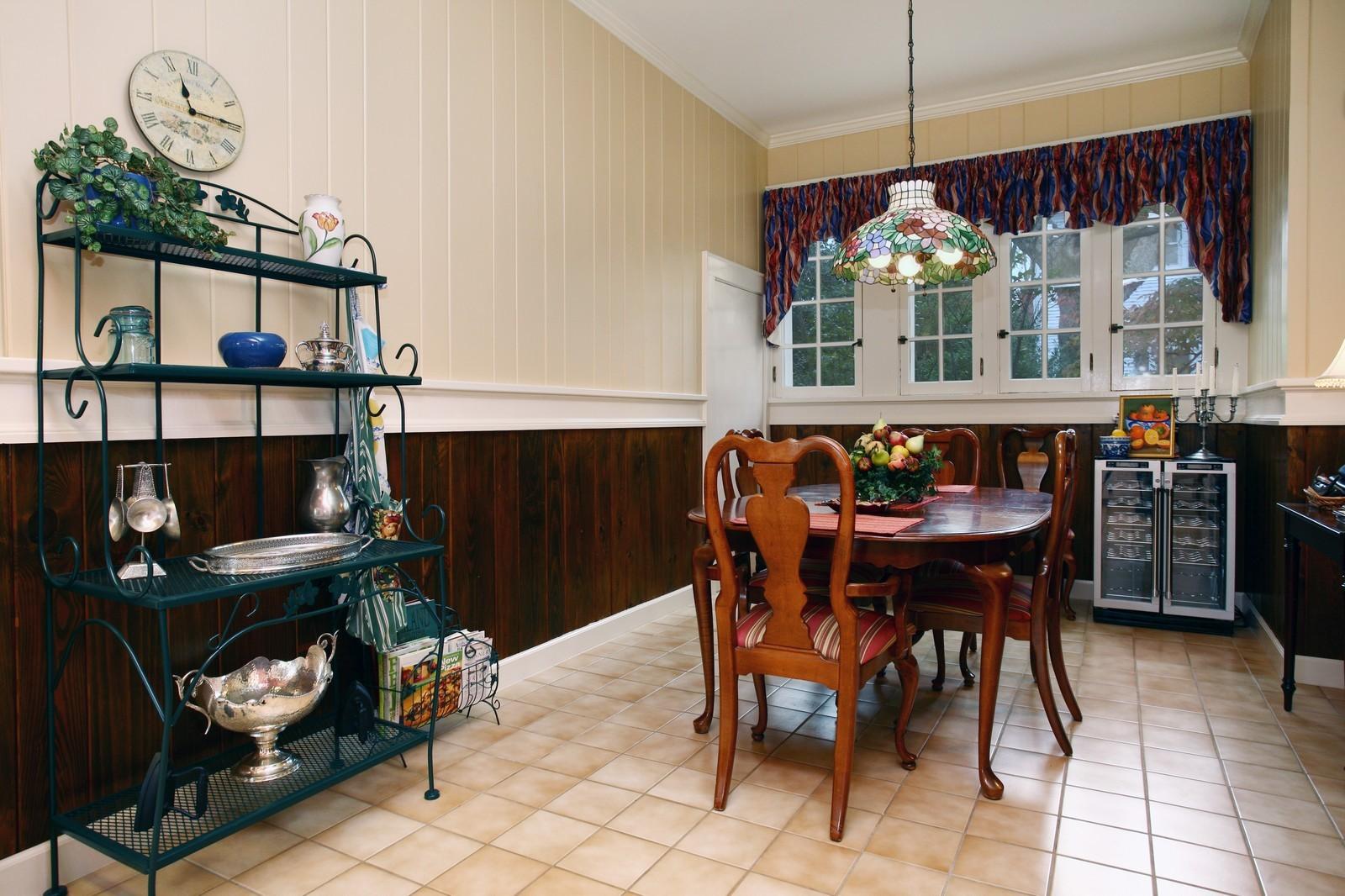 Real Estate Photography - 414 N 14th St, Lanett, AL, 36863 - Breakfast Nook