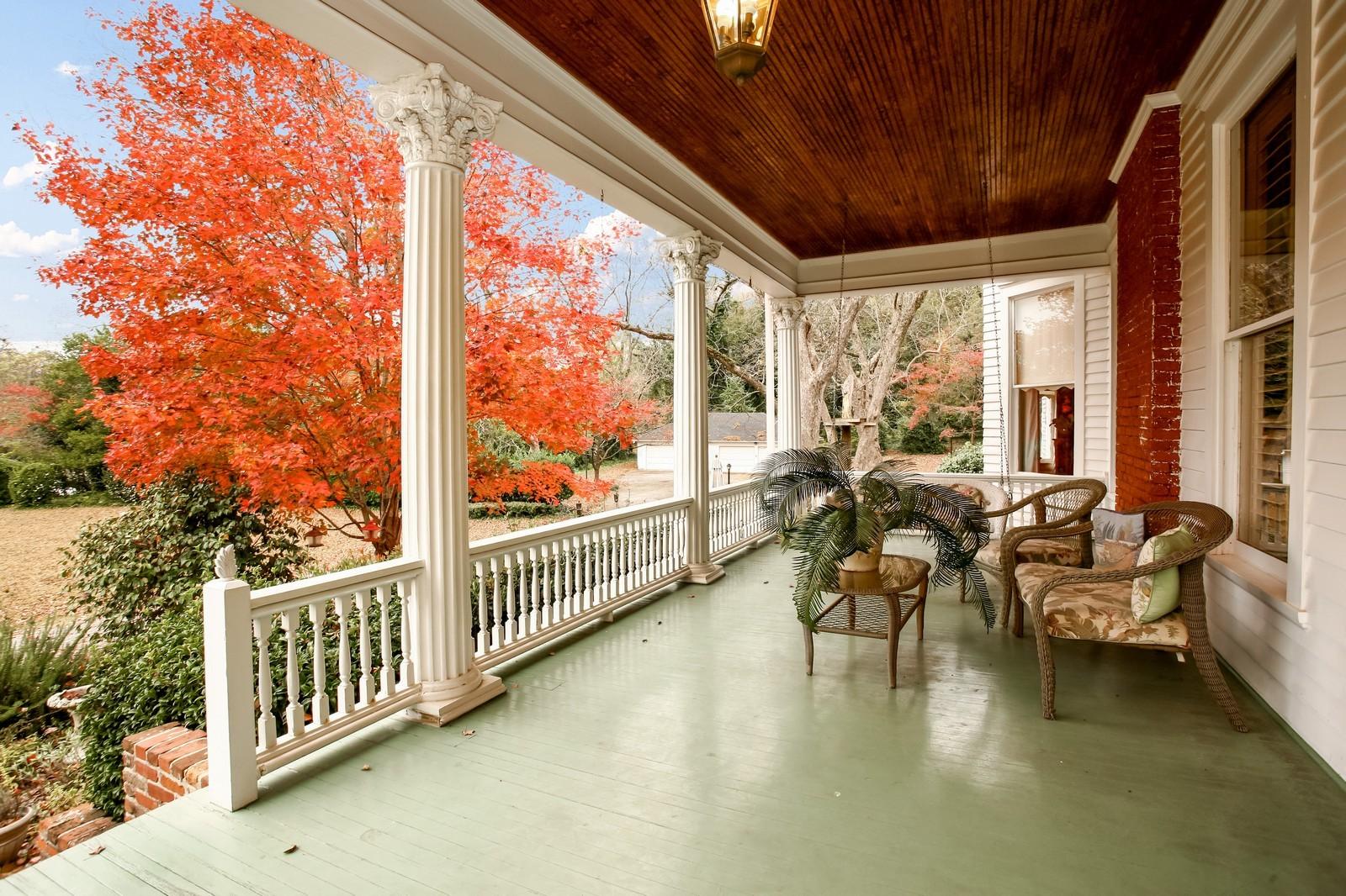 Real Estate Photography - 414 N 14th St, Lanett, AL, 36863 - Patio