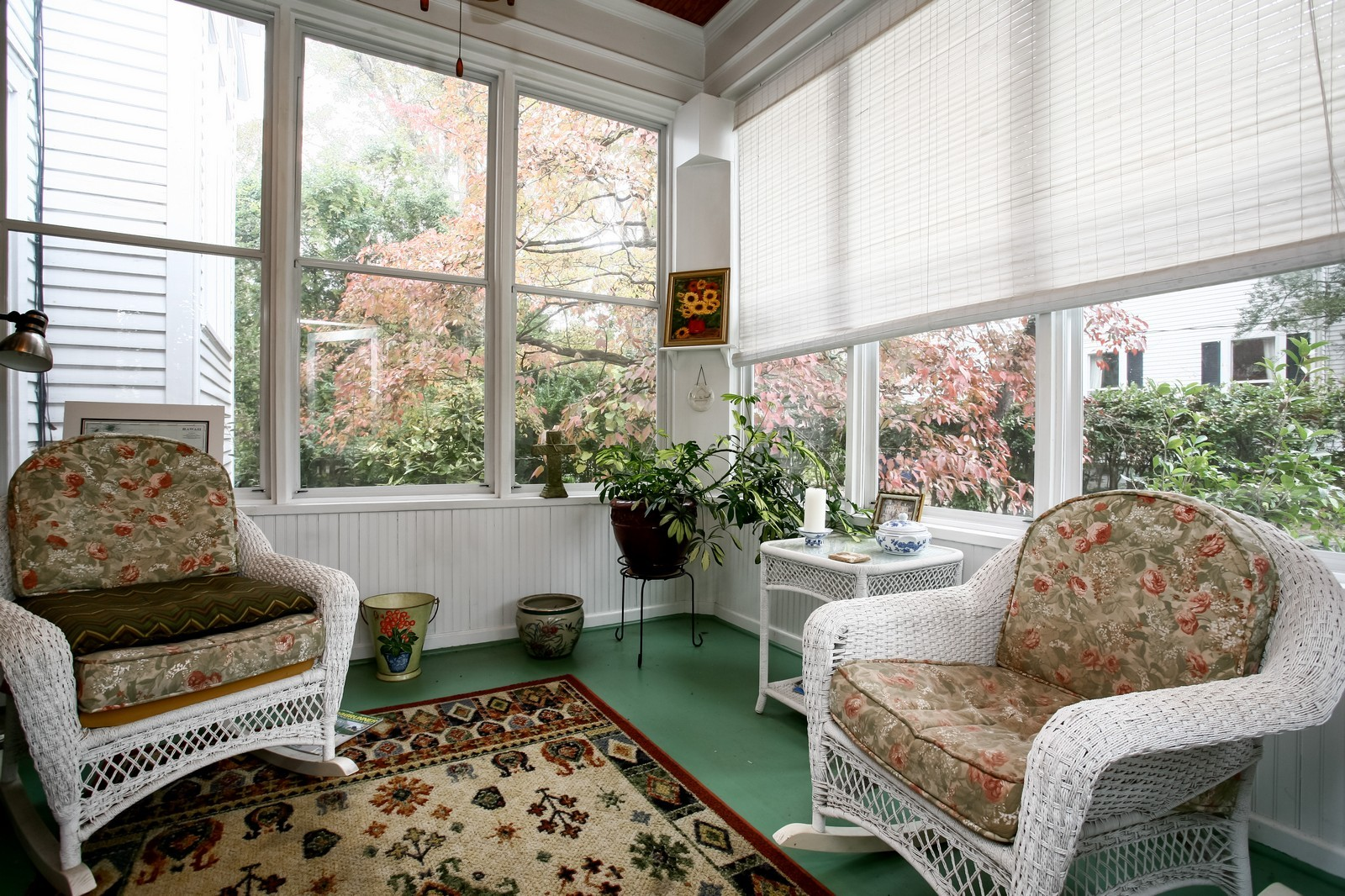 Real Estate Photography - 414 N 14th St, Lanett, AL, 36863 - Sun Room