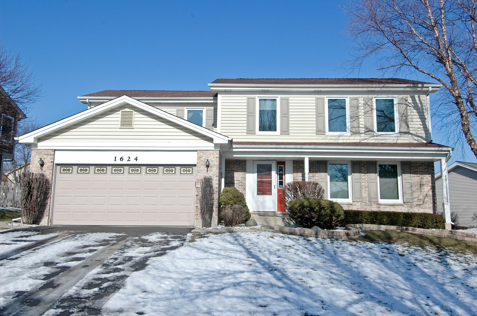 Real Estate Photography - 1624 Stratton Pond, Schaumburg, IL, 60194 - Front View