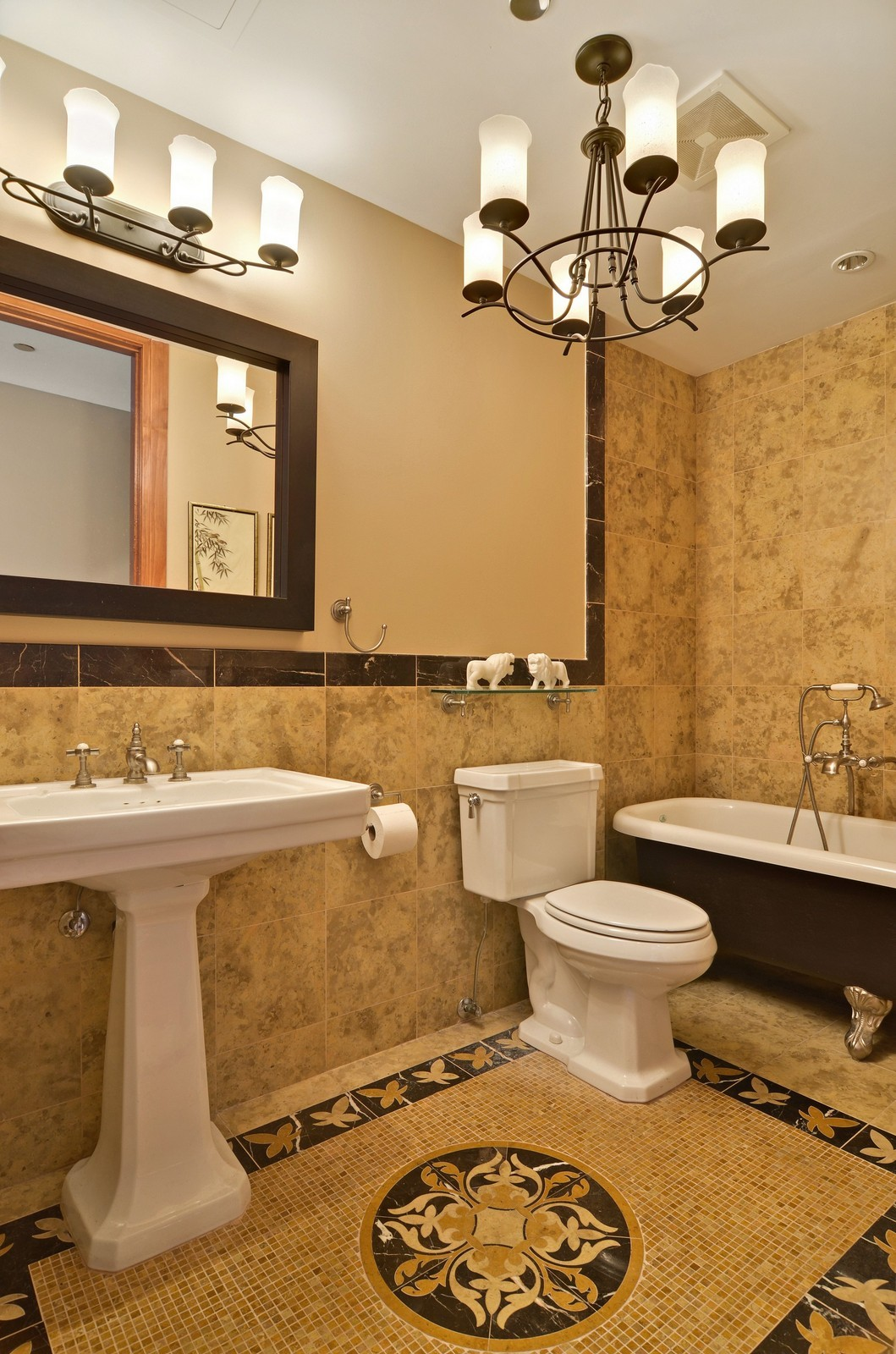 Real Estate Photography - 840 N Lake Shore Dr, Unit 201, Chicago, IL, 60611 - 3rd Bathroom
