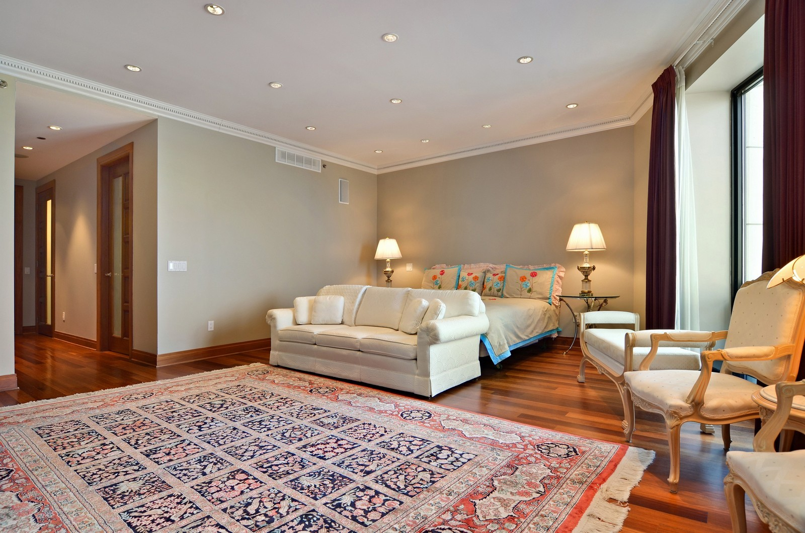 Real Estate Photography - 840 N Lake Shore Dr, Unit 201, Chicago, IL, 60611 - Master Bedroom