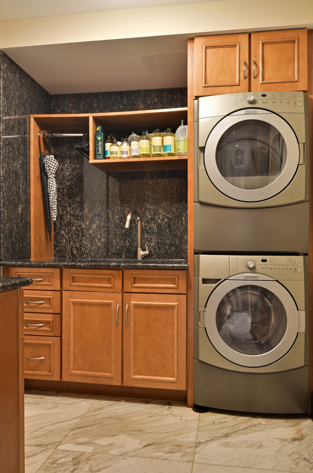 Real Estate Photography - 840 N Lake Shore Dr, Unit 201, Chicago, IL, 60611 - Laundry Room