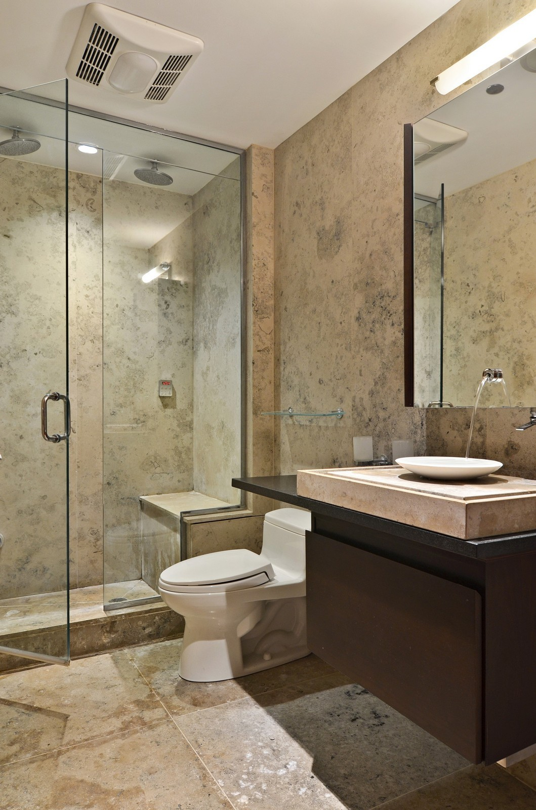 Real Estate Photography - 840 N Lake Shore Dr, Unit 201, Chicago, IL, 60611 - 2nd Bathroom
