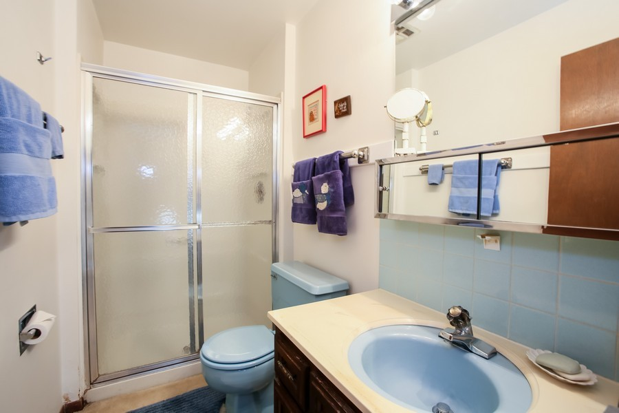 Real Estate Photography - 6919 Fairmount Ave, Downers Grove, IL, 60516 - Master Bathroom