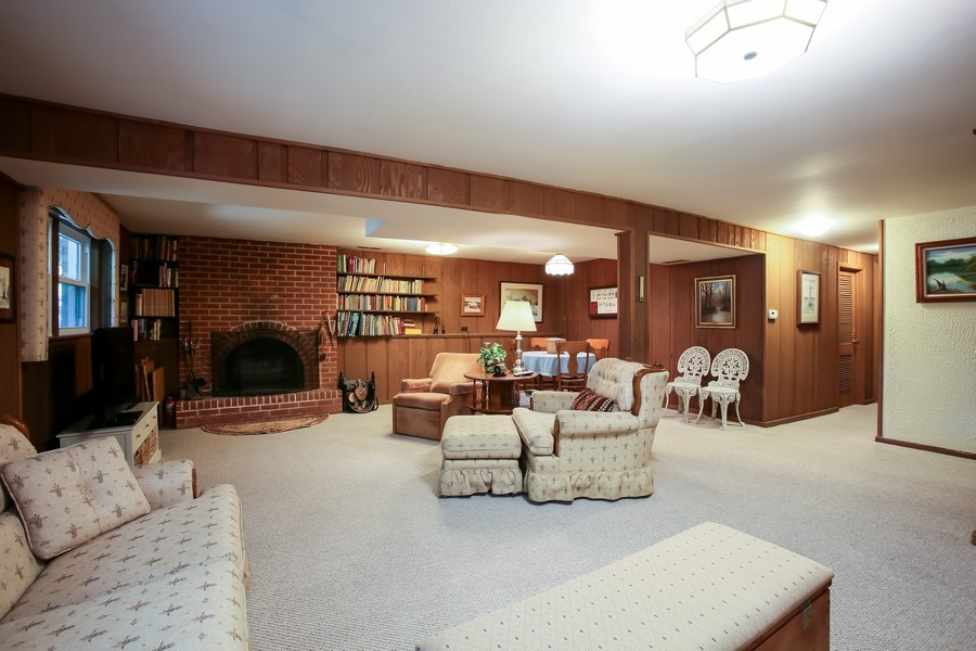 Real Estate Photography - 6919 Fairmount Ave, Downers Grove, IL, 60516 - Lower Level