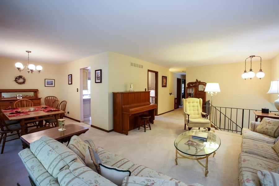 Real Estate Photography - 6919 Fairmount Ave, Downers Grove, IL, 60516 - Living Room / Dining Room