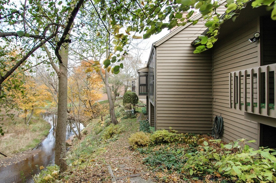 Real Estate Photography - 250 Spring Cove Rd, Elgin, IL, 60123 - Rear View