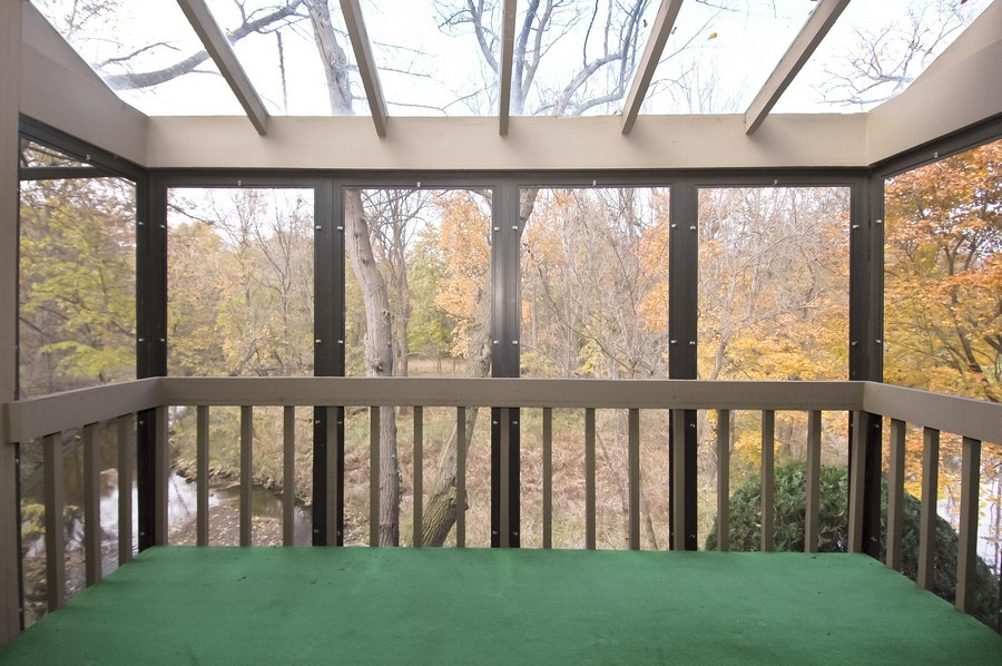 Real Estate Photography - 250 Spring Cove Rd, Elgin, IL, 60123 - Balcony