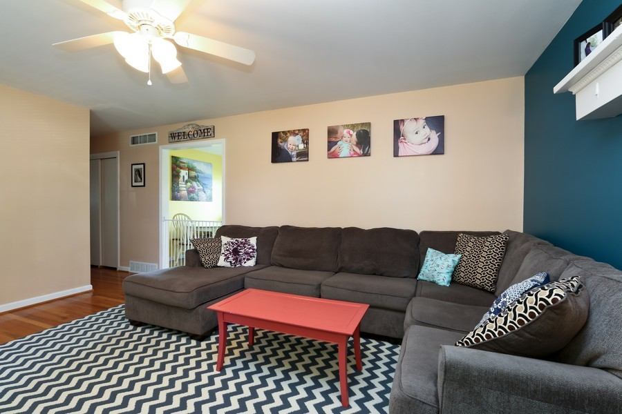 Real Estate Photography - 5548 N Flora, Kansas City, MO, 64118 - Living Room