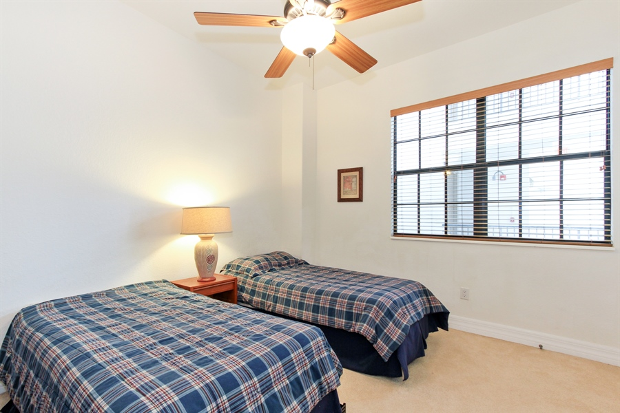 Real Estate Photography - 10733 Mirasol Dr. #307, Miromar Lakes, FL, 33913 - 3rd Bedroom