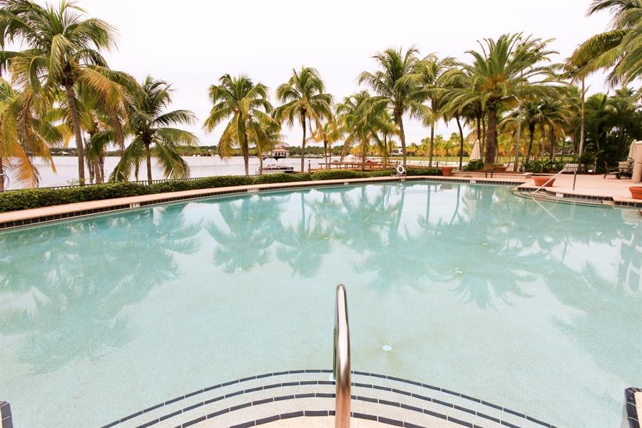 Real Estate Photography - 10733 Mirasol Dr. #307, Miromar Lakes, FL, 33913 - Mirasol's Resort Pool * Beach Front!!