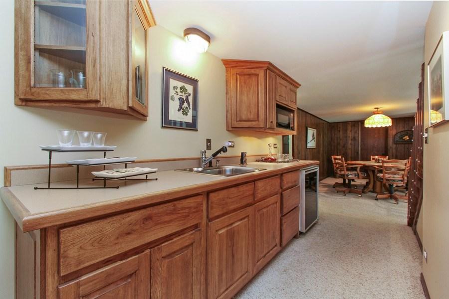 Real Estate Photography - 6 Harvard, Hawthorn Woods, IL, 60047 - Mini Kitchen