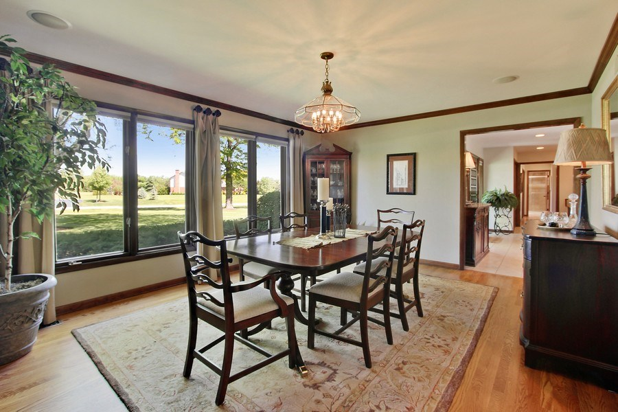 Real Estate Photography - 6 Harvard, Hawthorn Woods, IL, 60047 - Dining Room