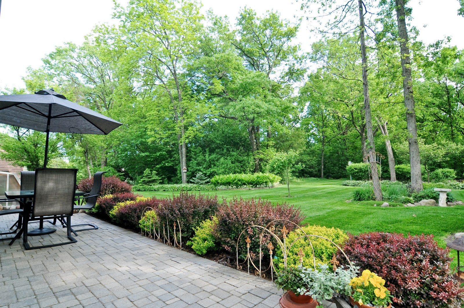 Real Estate Photography - 14185 W August Zupec, Wadsworth, IL, 60083 - Back Yard
