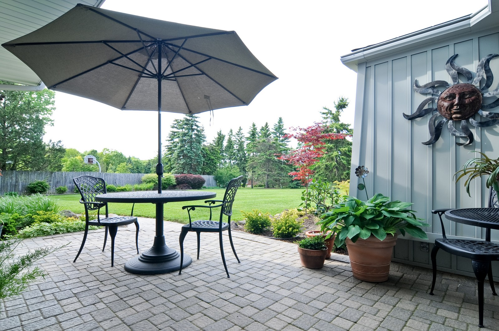 Real Estate Photography - 14185 W August Zupec, Wadsworth, IL, 60083 - Deck