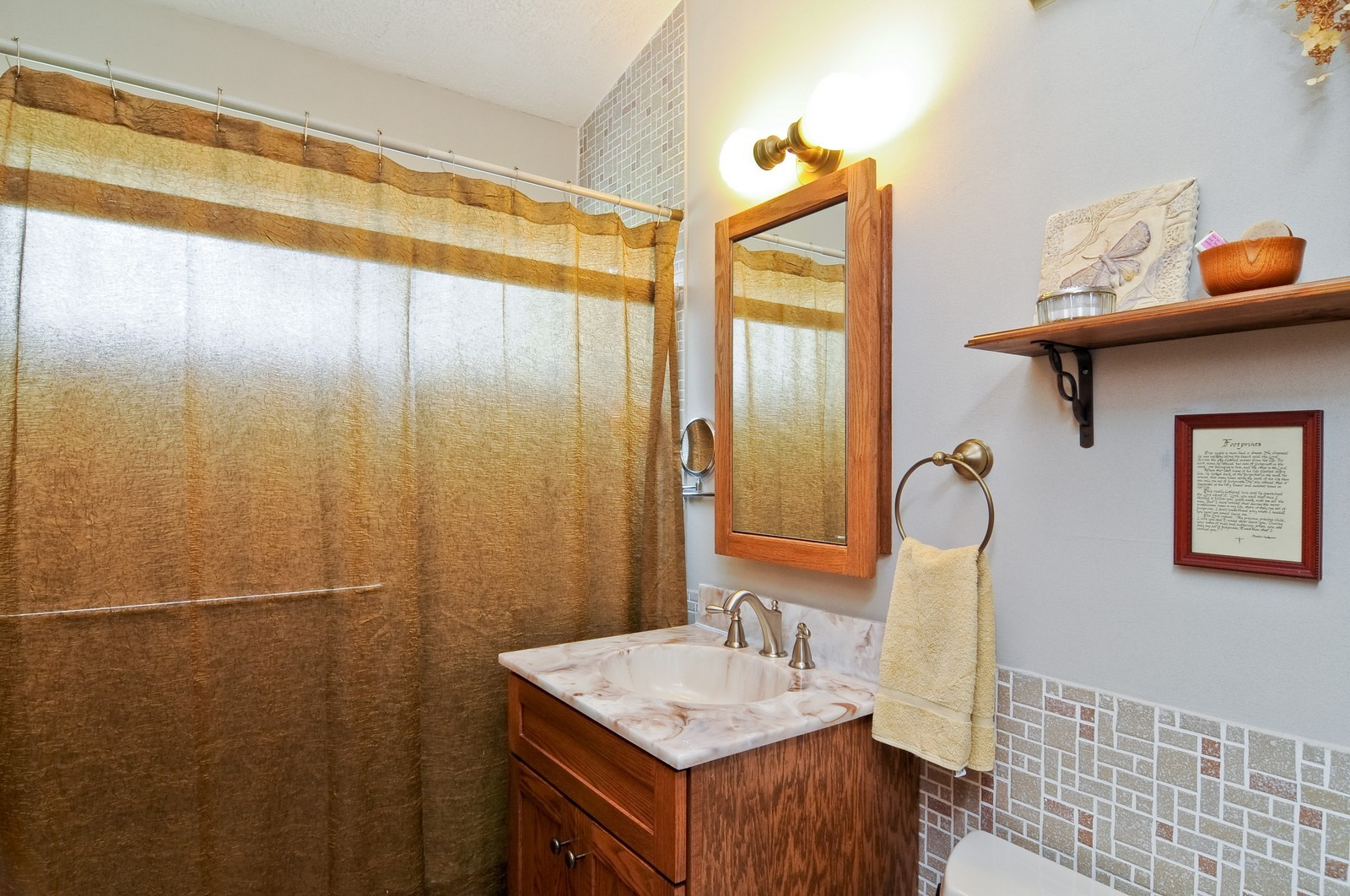 Real Estate Photography - 14185 W August Zupec, Wadsworth, IL, 60083 - Bathroom