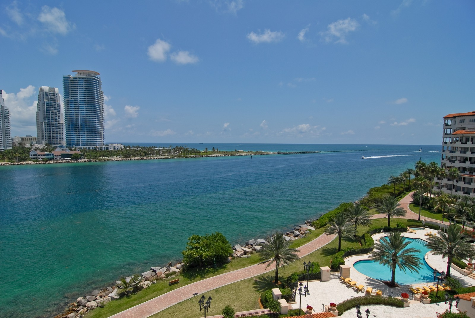 Real Estate Photography - 7161 Fisher Island Drive, Miami Beach, FL, 33109 - Canal View