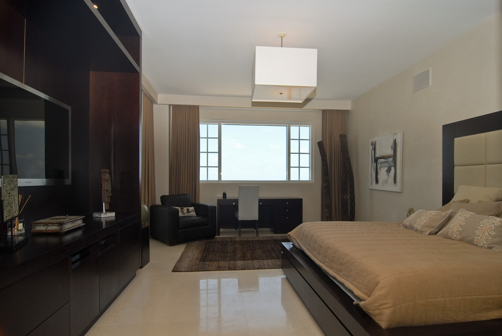 Real Estate Photography - 7161 Fisher Island Drive, Miami Beach, FL, 33109 - Master Bedroom