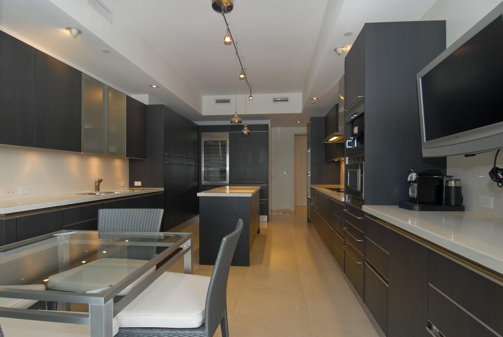 Real Estate Photography - 7161 Fisher Island Drive, Miami Beach, FL, 33109 - Kitchen