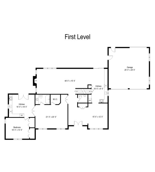 Real Estate Photography - 422 Forest, Mahwah, NJ, 07430 - Floor Plan
