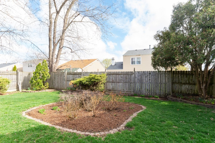 Real Estate Photography - 2365 Buttercup, Aurora, IL, 60506 - Back Yard