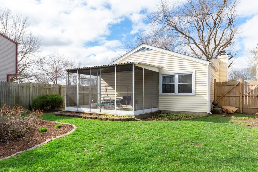 Real Estate Photography - 2365 Buttercup, Aurora, IL, 60506 - Rear View