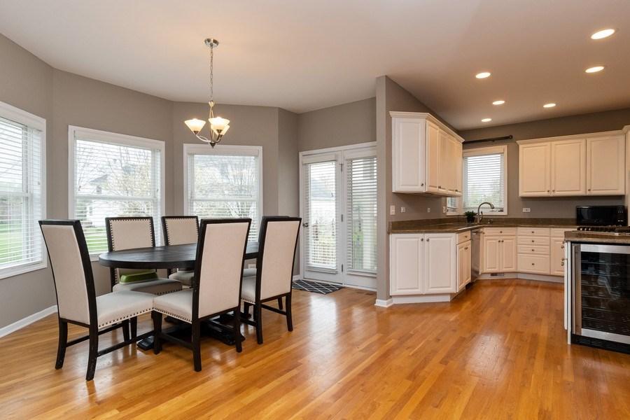 Real Estate Photography - 2515 Adamsway, Aurora, IL, 60502 - Kitchen / Breakfast Room