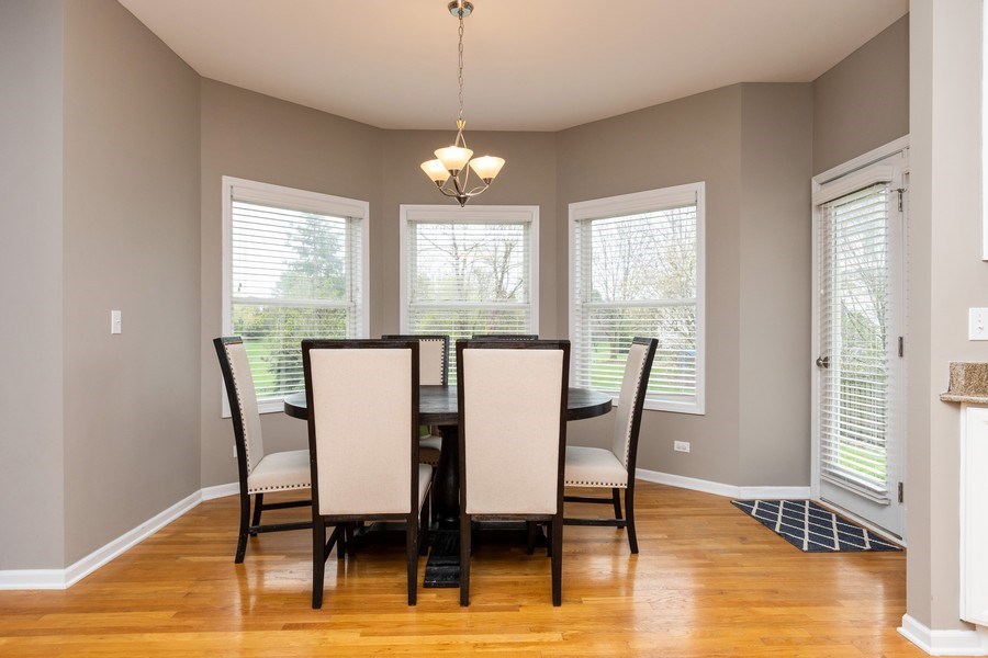 Real Estate Photography - 2515 Adamsway, Aurora, IL, 60502 - Breakfast Area