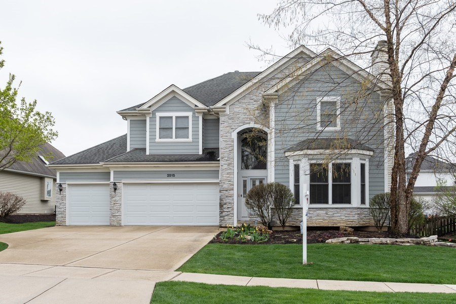 Real Estate Photography - 2515 Adamsway, Aurora, IL, 60502 - Front View