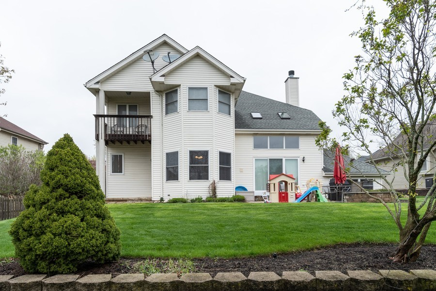 Real Estate Photography - 2515 Adamsway, Aurora, IL, 60502 - Rear View
