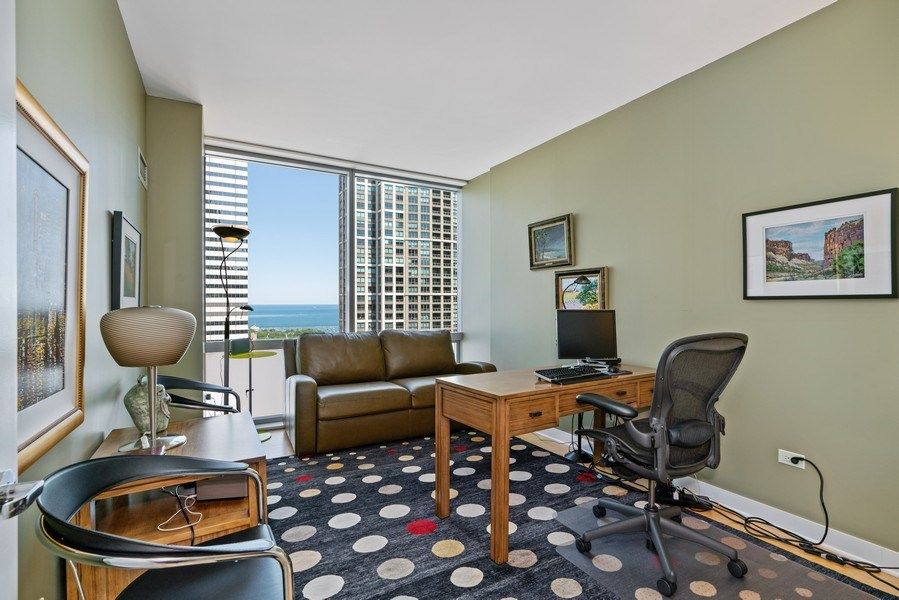 Real Estate Photography - 8 E Randolph, Chicago, IL, 60601 - 2nd Bedroom