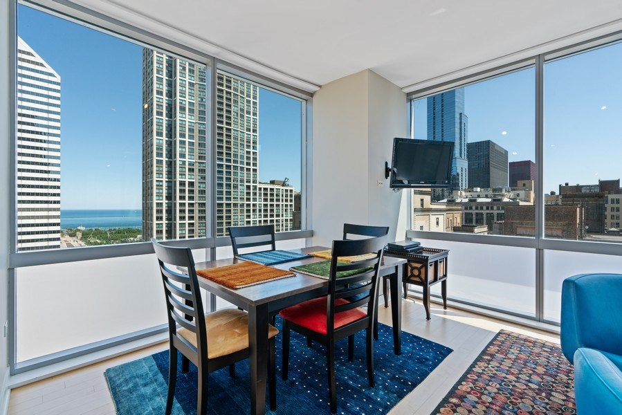 Real Estate Photography - 8 E Randolph, Chicago, IL, 60601 - Dining Room