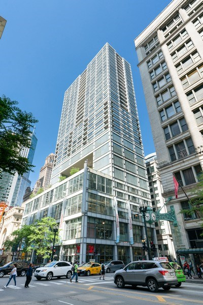 Real Estate Photography - 8 E Randolph, Chicago, IL, 60601 - Front View