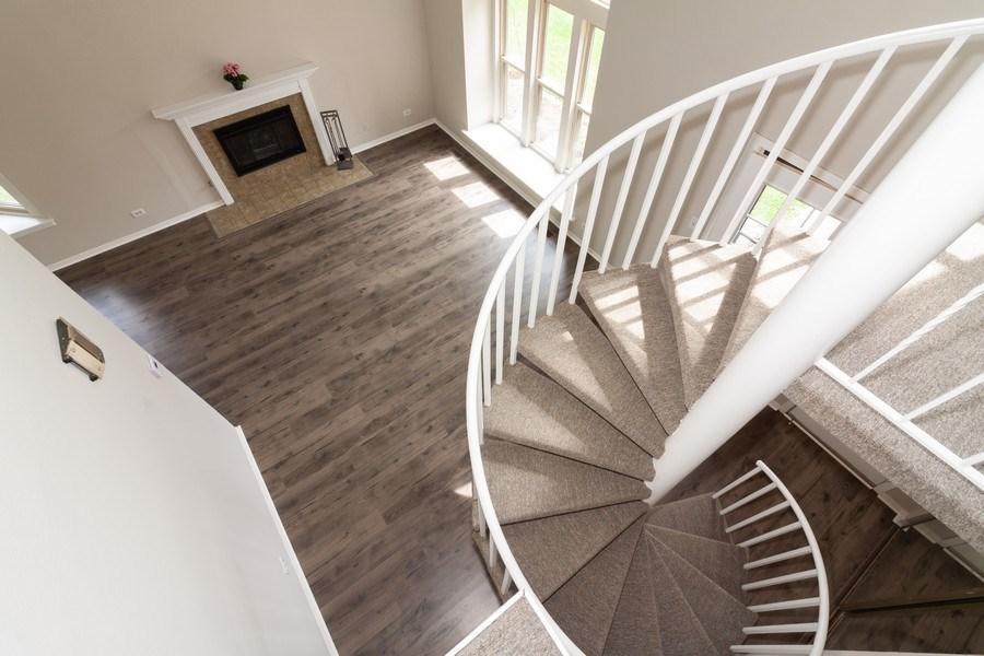 Real Estate Photography - 850 Camden, Aurora, IL, 60504 - Staircase