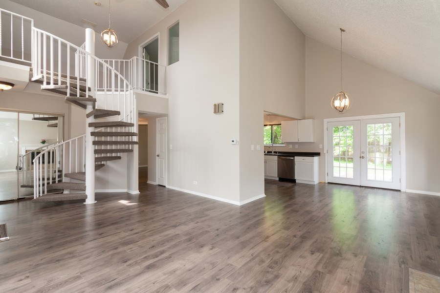 Real Estate Photography - 850 Camden, Aurora, IL, 60504 - Living Room / Dining Room