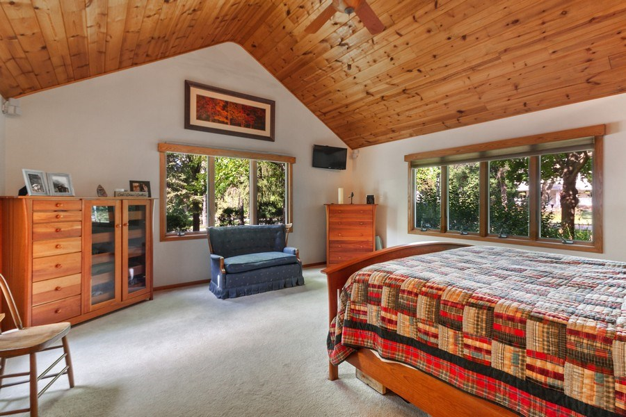 Real Estate Photography - 2S420 MADISON ST, WHEATON, IL, 60189 - Master Bedroom