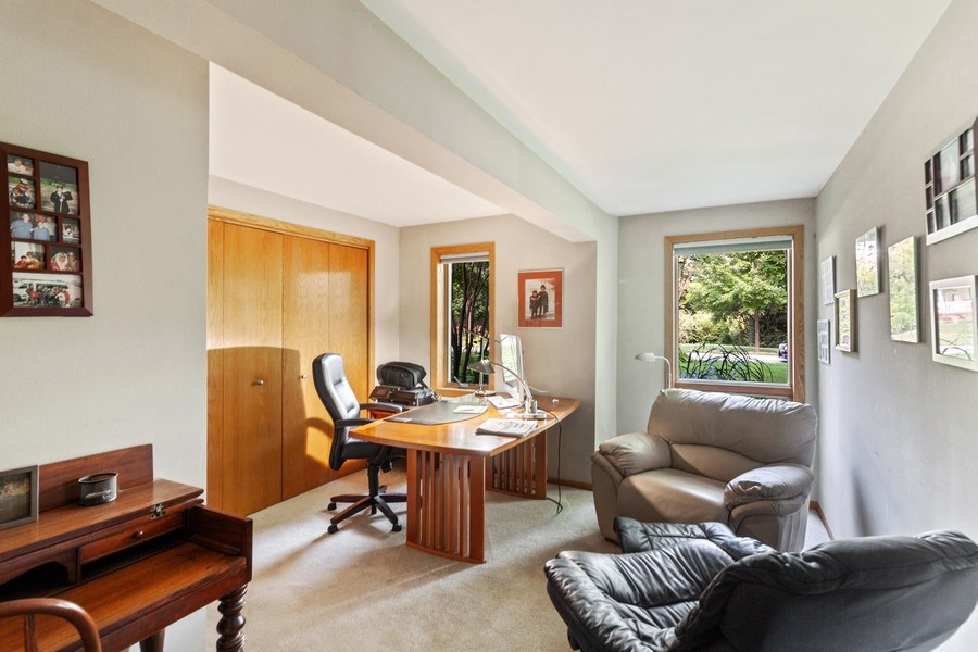 Real Estate Photography - 2S420 MADISON ST, WHEATON, IL, 60189 - Office