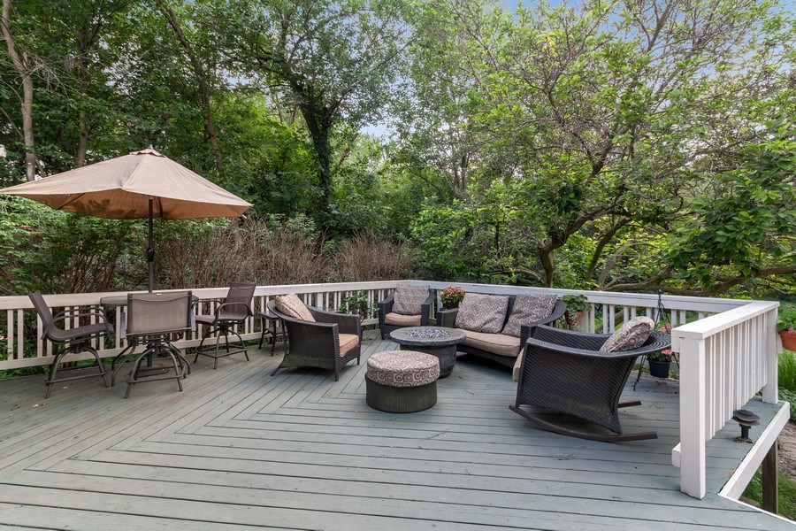 Real Estate Photography - 2S420 MADISON ST, WHEATON, IL, 60189 - Deck