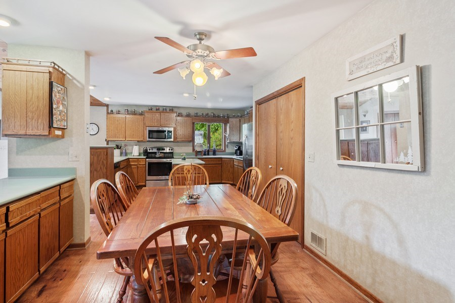 Real Estate Photography - 2S420 MADISON ST, WHEATON, IL, 60189 - Kitchen / Dining Room