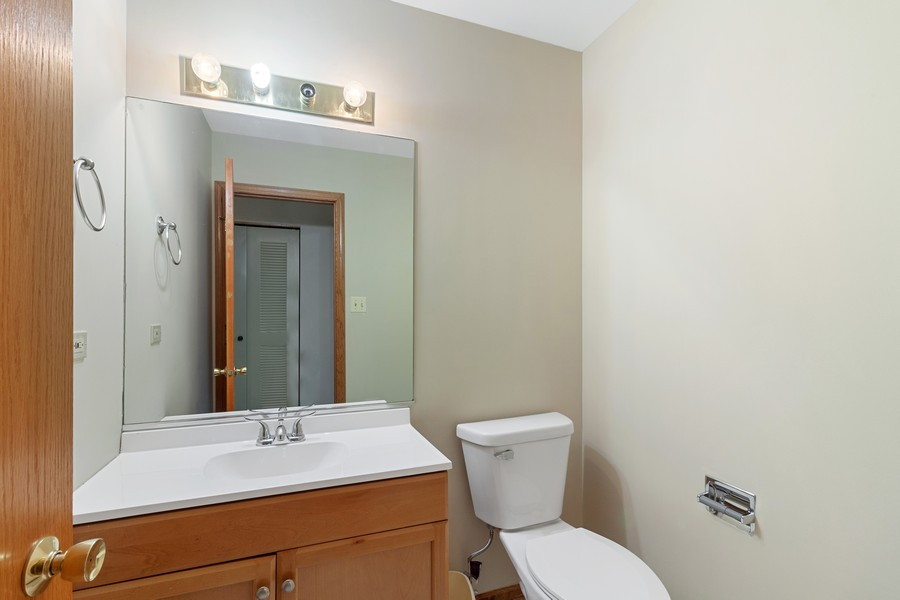 Real Estate Photography - 9430 West 166th Ct, Orland Park, IL, 60467 - Powder Room