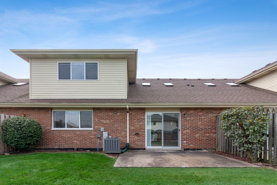 Real Estate Photography - 9430 West 166th Ct, Orland Park, IL, 60467 - Rear View