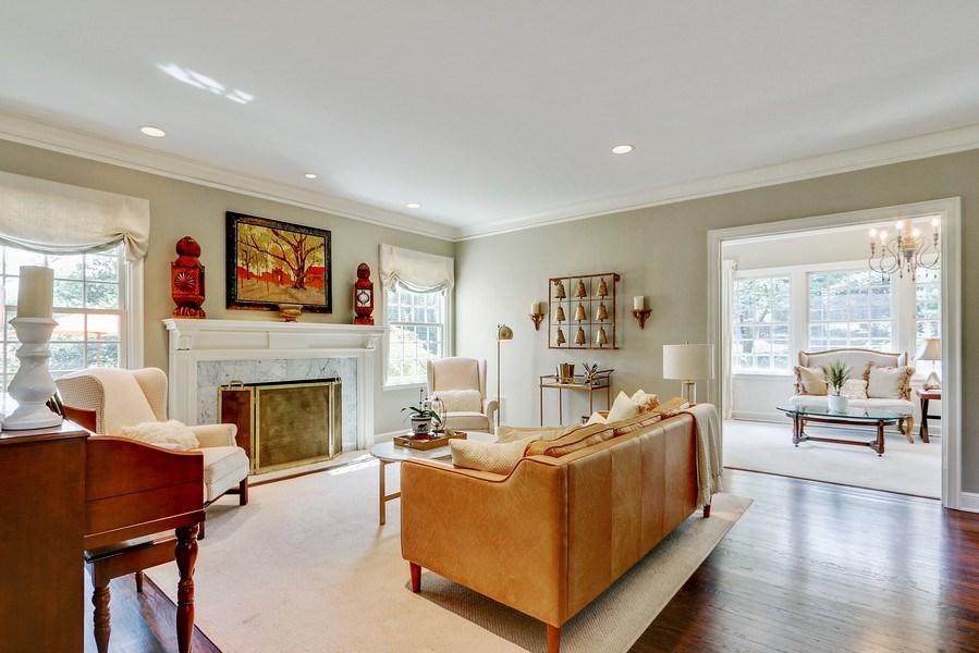 Real Estate Photography - 5651 High Dr, Mission Hills, KS, 66208 - Formal Living Room