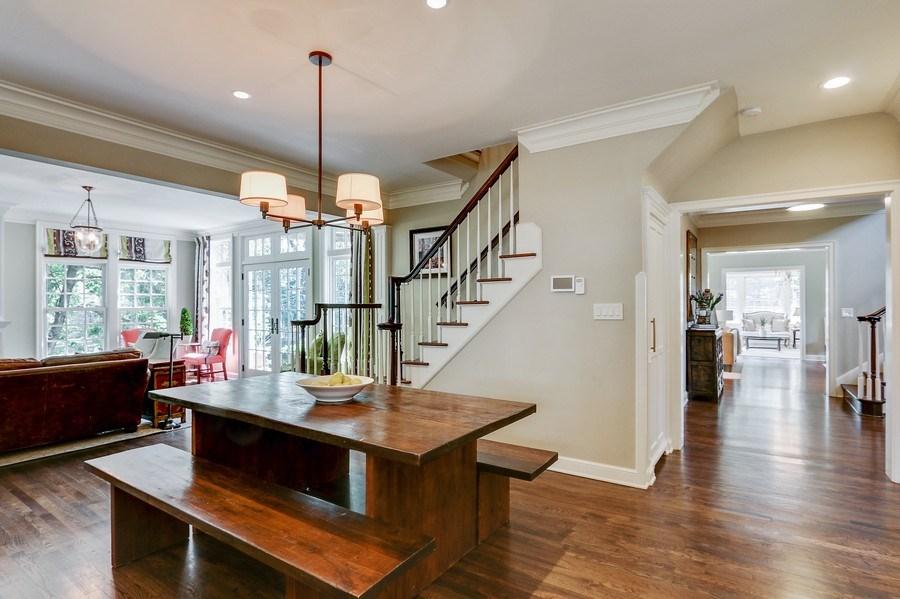 Real Estate Photography - 5651 High Dr, Mission Hills, KS, 66208 - Breakfast Area