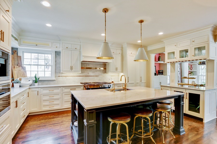 Real Estate Photography - 5651 High Dr, Mission Hills, KS, 66208 - 2016 Kitchen Renovation by Gahagan-Eddy