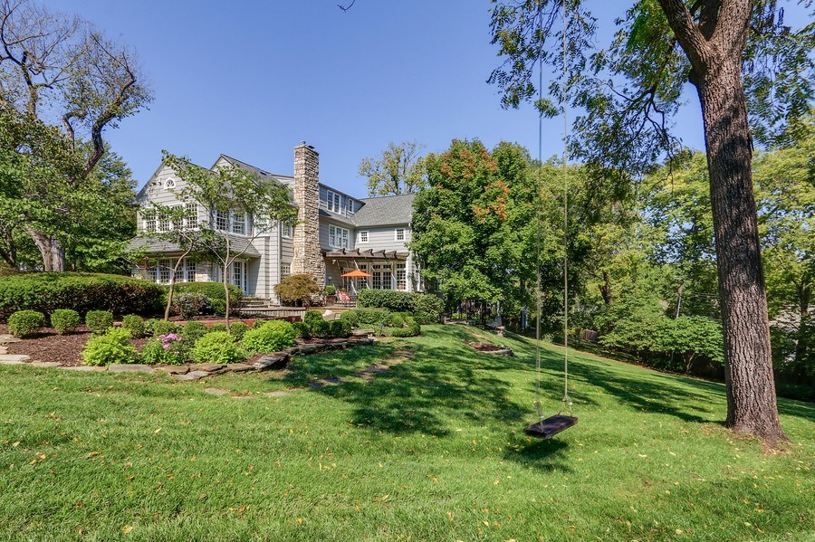 Real Estate Photography - 5651 High Dr, Mission Hills, KS, 66208 - Rear View