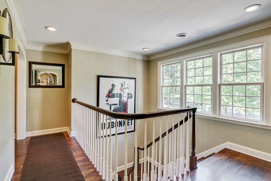 Real Estate Photography - 5651 High Dr, Mission Hills, KS, 66208 - Second Floor Hallway/Landing
