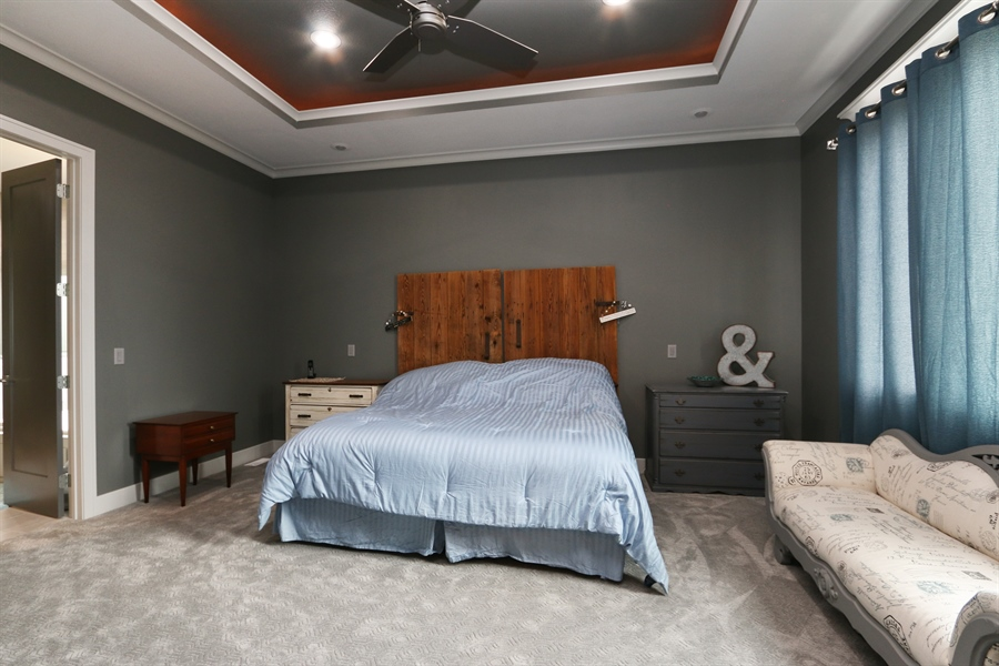 Real Estate Photography - 13275 33 Highway, Kearney, MO, 64060 - Master Bedroom
