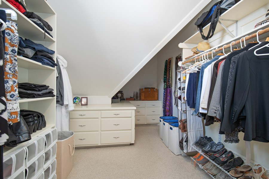 Real Estate Photography - 6108 W 61st Terrace, Mission, KS, 66202 - Spacious walk-in master closet